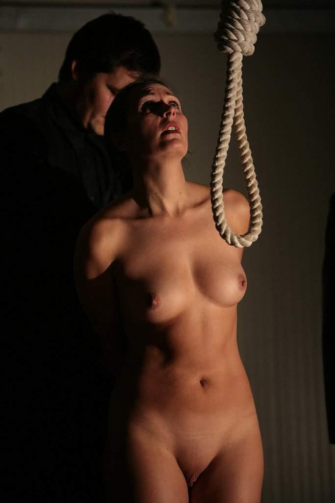 hanging porn by neck